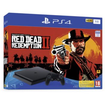 Sony Slim 1To Red Dead Redemption 2 				 			 			 			 				reconditionné