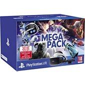 Casque de réalité virtuelle Sony PSVR MK4 Méga Pack 5 Jeux