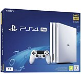Console PS4 Sony  Pro 1TO Blanche