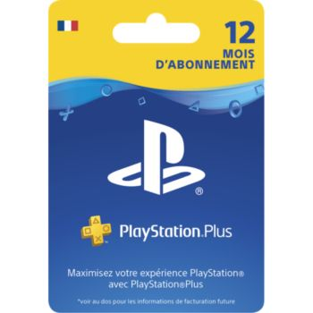 Sony Carte PS+ Abonnement 1 an