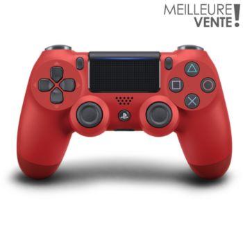 Sony Manette PS4 Dual Shock Rouge V2