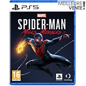 Jeu PS5 Sony Marvel's Spider Man Miles morales