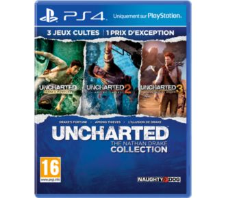 Sony Uncharted : The Nathan Drake Collection
