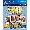 Jeu PS4 Sony Qui es-tu ? / That's You !