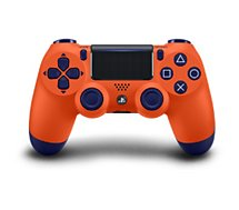 Manette Sony  Manette PS4 Dual Shock Sunset Orange