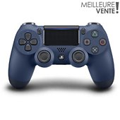 Manette Sony Manette PS4 Dual Shock Midnight Blue