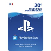 Accessoire Sony Carte 20 euros Playstation Network