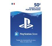 Sony Carte 50 euros Playstation Network