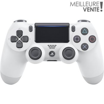 Sony Manette PS4 Dual Shock Blanche V2