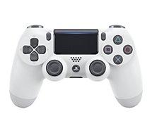 Manette Sony  Manette PS4 Dual Shock Blanche V2
