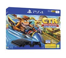 Console PS4 Sony  PS4 1To Crash Team Racing + 2ème Manette