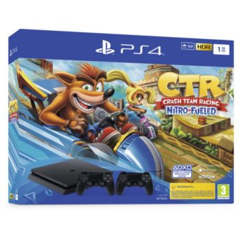 Sony PS4 1To Crash Team Racing + 2ème Manette