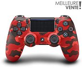 Manette Sony Manette PS4 Dual Shock Red Camouflage