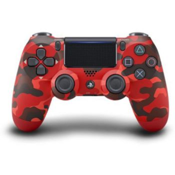 Sony Manette PS4 Dual Shock Red Camouflage