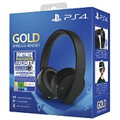 Casque gamer Sony Casque sans fil Gold + Code Fortnite