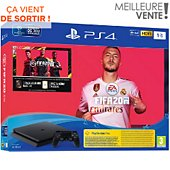 Console PS4 Sony PS4 Slim 1To Fifa 20 + Abo PS+ 14 jours
