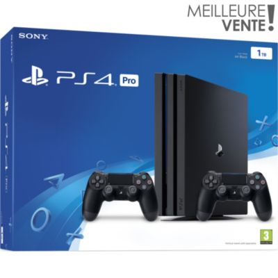 Ps4 playstation 4 retrait 1h en magasin boulanger - Ps4 pro boulanger ...