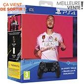 Manette + Jeu Sony Manette PS4 Dual Shock Noire + FIFA 20