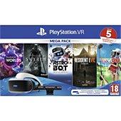 Casque de réalité virtuelle Sony PSVR MK4 Méga Pack 5 Jeux V2