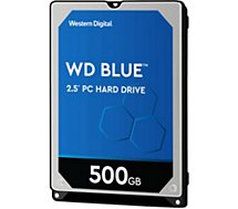 Disque dur Western Digital  Blue 500Go 5 400 tr/min 2.5''