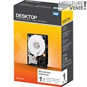 Disque dur interne Western Digital 3.5'' 1To Desktop int Blue sata