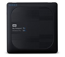 Disque dur Wifi Western Digital  2.5'' 1To My Passport Wireless Pro Black
