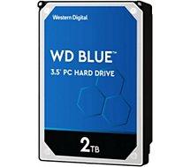 Disque dur interne Western Digital  Blue 2To 3.5'' 5 400 tr/min