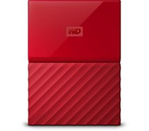 Disque dur externe Western Digital 2,5'' 4 To My Passport Rouge