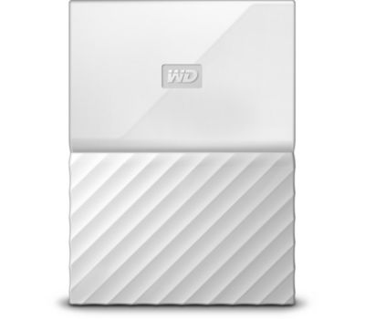 Disque dur externe Western Digital 2,5'' 1 To My Passport Blanc New