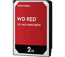 Disque dur interne Western Digital  Red NAS 2To 5 400 tr/min 3.5''