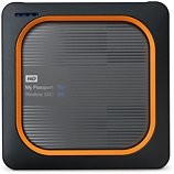 Disque dur Wifi Western Digital My Passport Wireless SSD 250 Go Silver