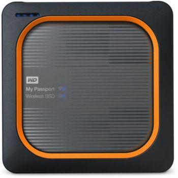 Western Digital My Passeport Wireless SSD 250 GO SD Card