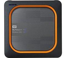 Disque dur interne Western Digital  My passport Wireless 1To Gris