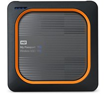 Disque dur Wifi Western Digital  My Passeport Wireless SSD 250 GO SD Card