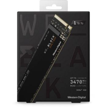Western Digital Black Interne 1To SN750 + Dissipateur