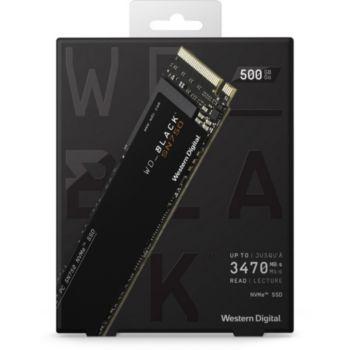 Western Digital Black Interne 500Go SN750 + dissipateur