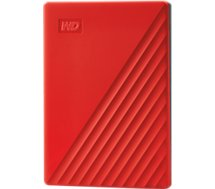 Disque dur externe Western Digital  2.5'' 2To My Passport Rouge