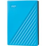Disque dur externe Western Digital  2.5'' 4To My Passport Bleu