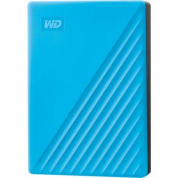 Western Digital 2.5'' 4To My Passport Bleu