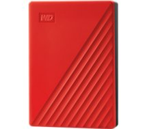 Disque dur externe Western Digital  2.5'' 4To My Passport Rouge