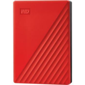 Western Digital 2.5'' 4To My Passport Rouge
