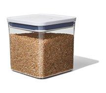 Boîte hermétique OXO  de conservation POP carree 2,6 L