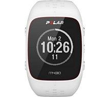Montre sport GPS Polar  M430 blanc M/L