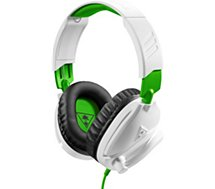 Casque gamer Turtle Beach Recon 70X Blanc Xbox One