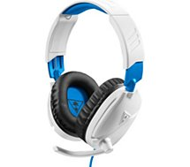 Casque gamer Turtle Beach  Recon 70P Blanc PS4