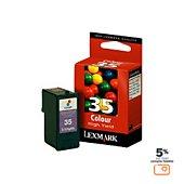 Cartouche d'encre Lexmark n°35 couleur haute capacité