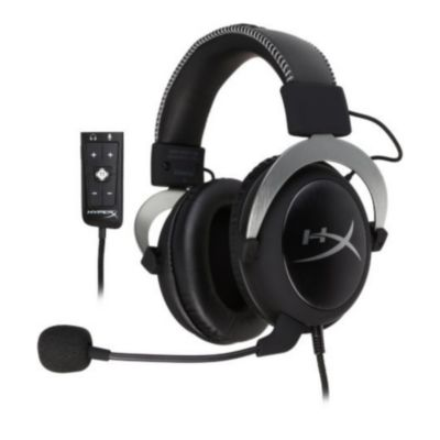 hyperx micro-casque gamer cloud ii filaire rouge s
