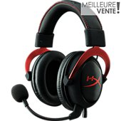 Casque gamer Hyperx Cloud II rouge