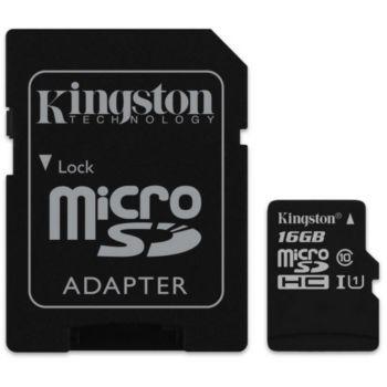 Kingston Canvas Select 16Go SDHC
