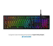 Clavier gamer Hyperx  ALLOY ORIGINS MECHANICAL RED